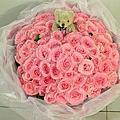 ❤99朵粉紅玫瑰❤大學畢業禮物