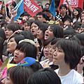 台北簽唱會現場