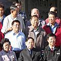 金門沙美後街美遠公派下:張雲羽張雲萍堂兄張松聲與中國國家正副主席胡錦濤習近平合影
