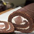 巧克力果凍蛋糕捲