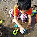 2014/09/13 沙崙輕鬆生活,沙灘挖沙烤肉