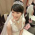 新秘Cherry小慧-文瓊結婚造型