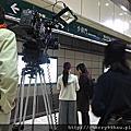 電影<划船>拍攝20120316小南門捷運站內