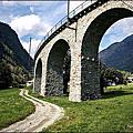 瑞士。伯連納列車