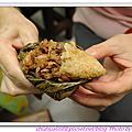 20110605 端午節。包粽子
