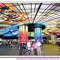 20110618 美麗島捷運站。光之穹頂