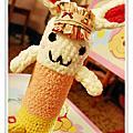 手鉤可愛兔兔保溫瓶袋