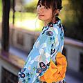 粉藍櫻花浴衣~騏騏@逸仙公園外拍