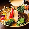 札幌湯咖哩。GARAKU