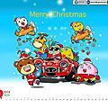 2014奇可奇卡月曆桌布