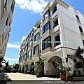 南寮低總價黃金比例社區庭院別墅_希臘愛琴海,西班牙風格建築