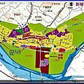 竹北中正西路商圈大面積建地_近新社國小雙面臨路方正角地
