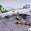 長榮航空 B77W Kitty星空彩繪 1/400飛機模型