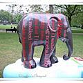 亞洲象在倫敦