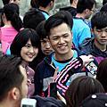 20141213華航55週年路跑&陳偉殷