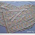 20081231-舊袖套改造成化妝包