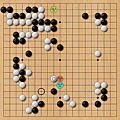 圍棋譜例圖2自戰解說