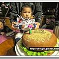 2011.04.23丁丁週歲提前慶生在橘餐廳
