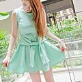K-藍綠洋裝