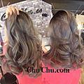 Chu hair salon髮藝設計✂️灰系列染髮作品
