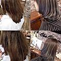 Chu.com髮藝設計✂️水漸層暈染.木紋光暈染