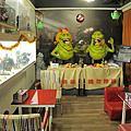 【台中美食】台中異想空間公仔主題餐廳