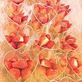 戚風蛋糕+慕斯+草莓淋面