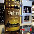 班瑞克西班牙利奧哈換桶17年單一麥芽威士忌