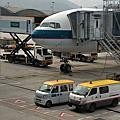 2019.3.18國泰航空台北飛香港CX407班機飛行紀錄