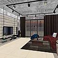 LOFT風格|工業風格設計|客廳設計