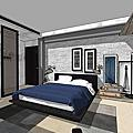 LOFT風格|工業風設計|臥室設計