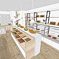 麵包店設計