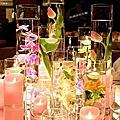 大直典華仙侶廳~160326 粉色的公主夢幻婚禮佈置