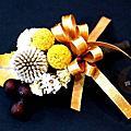 新郎胸花~乾燥花製