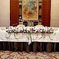 大倉久和~日式婚禮主桌花佈置(160509)
