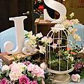 晶麒~戶外證婚婚禮+花園主題迎賓送客區佈置(161112)