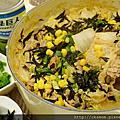 20131006_玉米白菜五花味噌牛奶鍋