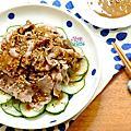 20150710_芝麻醬拌小黃瓜肉片