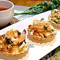 20150925_酥烤鮮蝦沙拉吐司塔