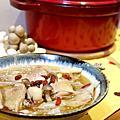 20171214_麻油菇菇雞湯