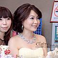 淑涵『訂婚』禮服by林薇時尚婚紗