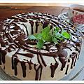 蛋糕。果醬