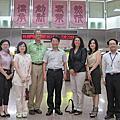 20110808美國學者Dr. Darwin參訪中醫院區