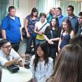 990928美國學生Augustana College一行80人至中醫參訪