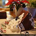 聖誕蛋糕第三彈~巧克力戚風蛋糕(Chiffon Cake)