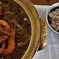 酥蝦春雨土鍋