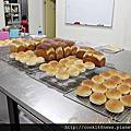 烘焙丙級麵包丙級上課情形