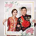 饅頭爸團隊|婚攝玉米|諭&穎|台中永豐棧B1F|宴客|完整|2018