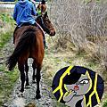 皇后鎮魔戒騎馬