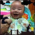 吃手手的Jovi星霏弟弟 3m囉!2013.1.26